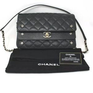 Chanel Seasonal Double Flap Quilted Leather 2017 a572f58b51773